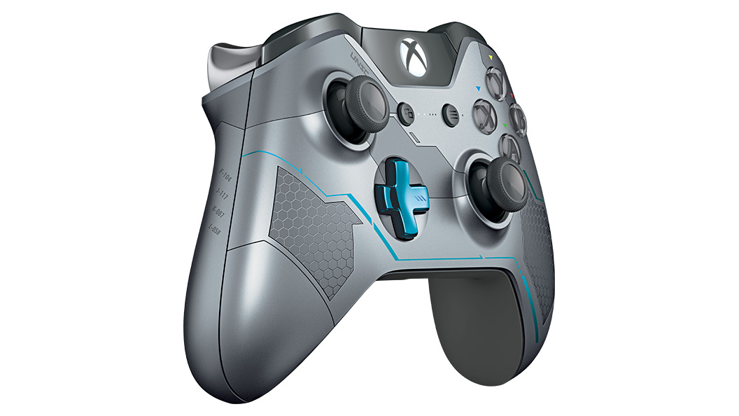 Halo 5 Guardians Controller von links