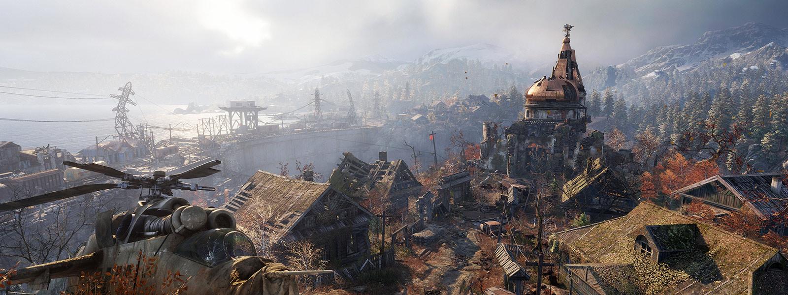 desolate town