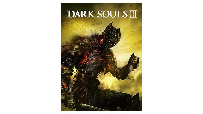Dark Souls 3 Standard Edition, bild på förpackning