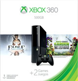 Xbox 360 500GB PvZ and Fable Anniversary Bundle box shot