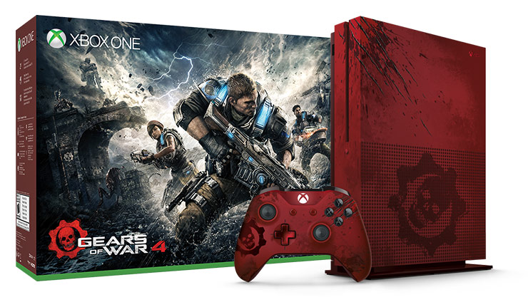 Xbox One S Gears of War 4 Limited Edition 2 terabyte bundle
