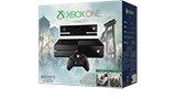 Xbox One with Kinect Assassins Creed Unity Bundle box shot front angle view small