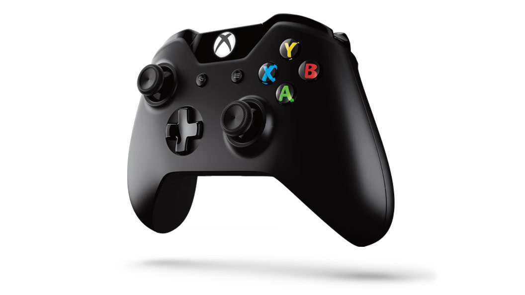 Xbox One Controller angled