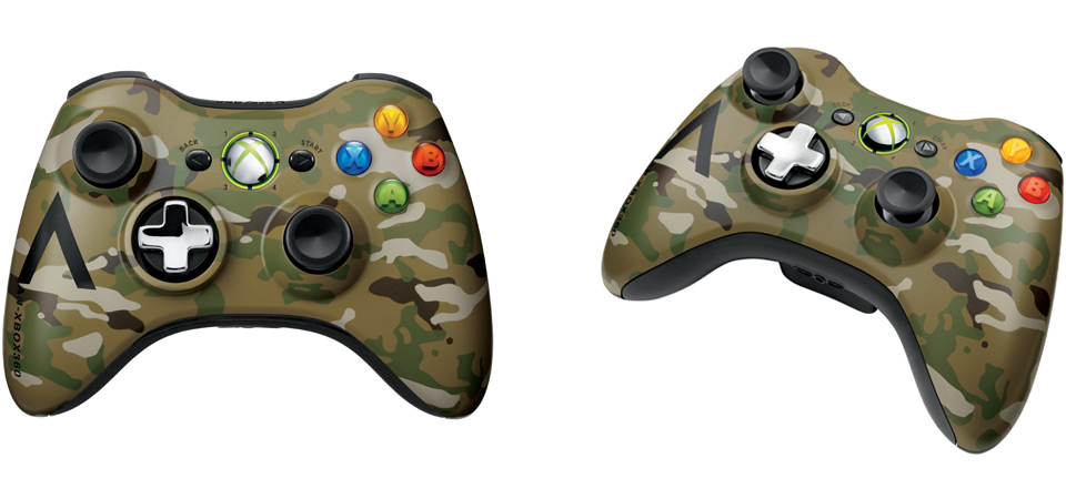 Xbox 360 Special Edition Camouflage Wireless Controller banner