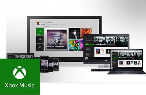 Xbox Music app