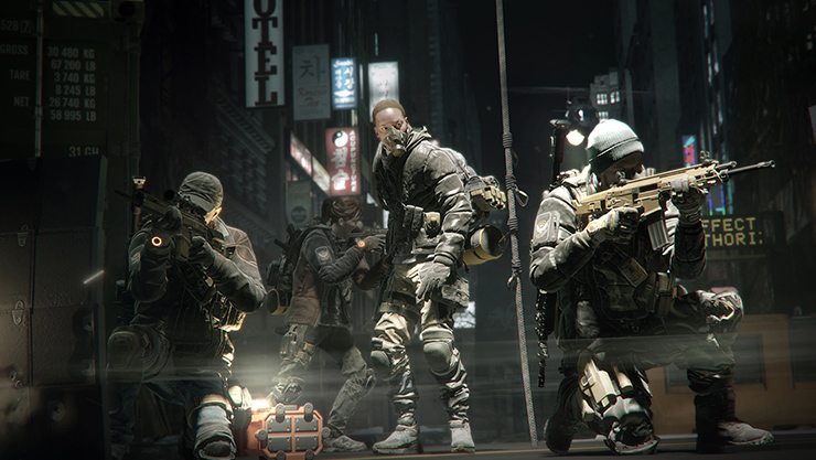 The Division multiplayer on Xbox Live