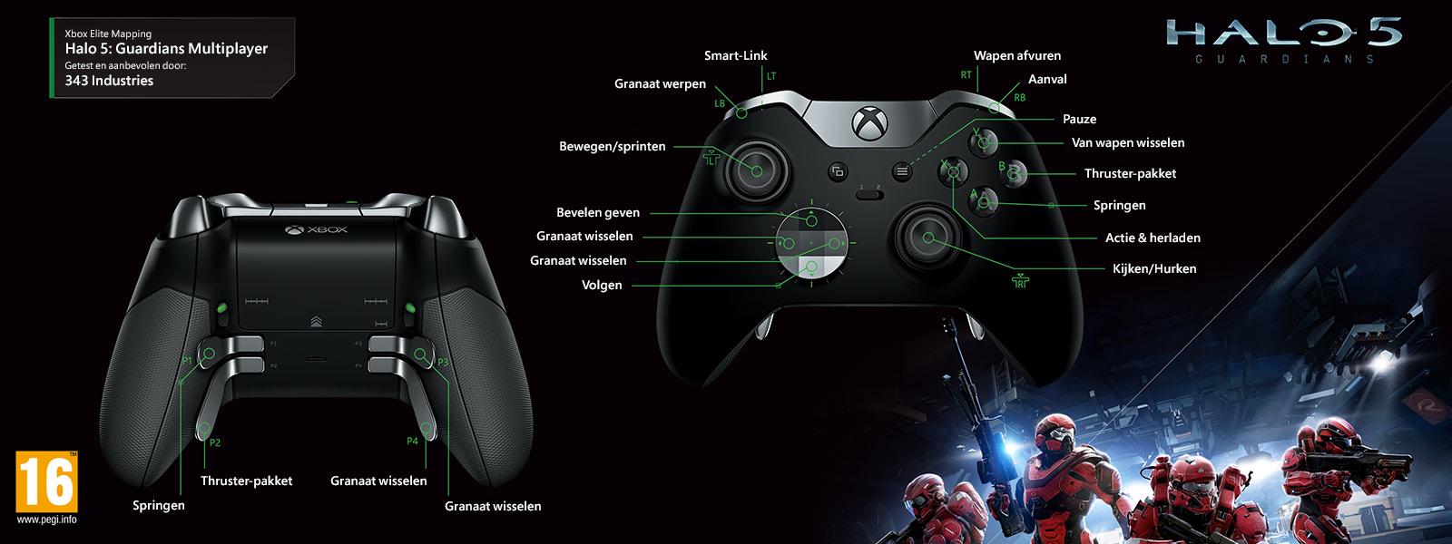 Halo 5: Guardians - Elite-mapping voor multiplayer