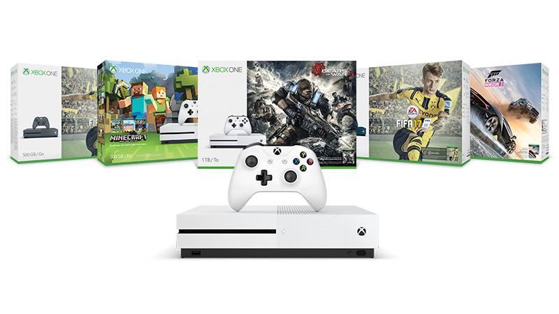 Profitez d'une réduction de 50€ sur une sélection de Packs Xbox One S