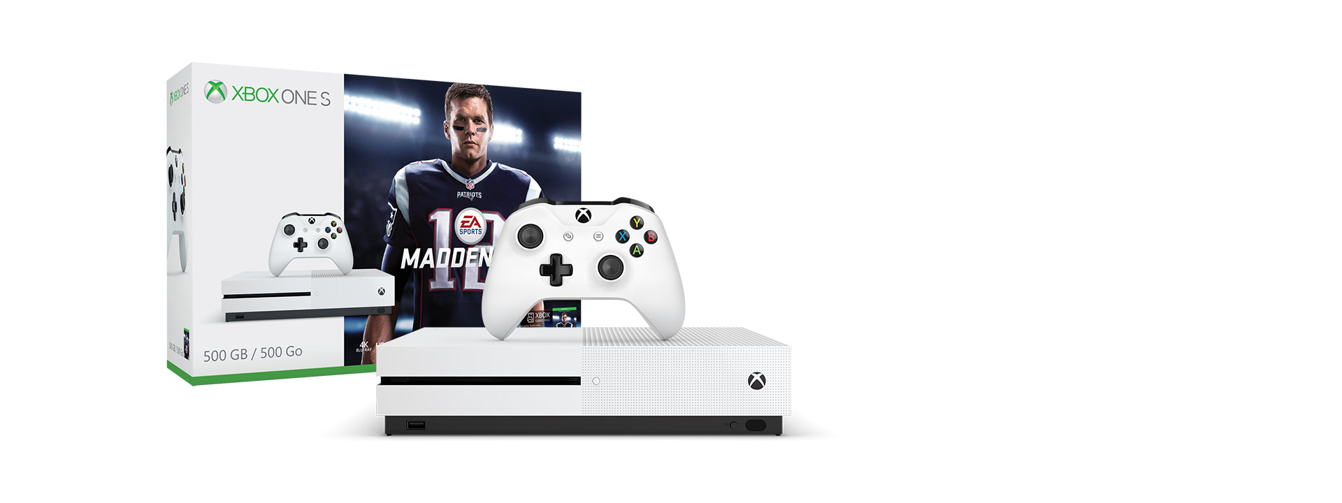 Xbox One S Madden 18 (500 GB)