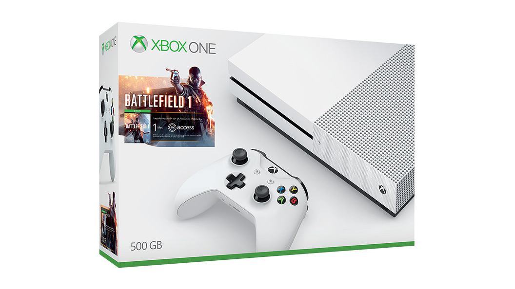 Image du pack Xbox One S+ Battlefield 1