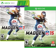 Madden 15 on Xbox One and Xbox 360