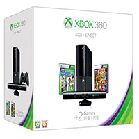 Xbox 360 4GB Kinect Holiday Bundle
