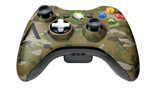 Xbox 360 Camouflage Wireless Controller front view