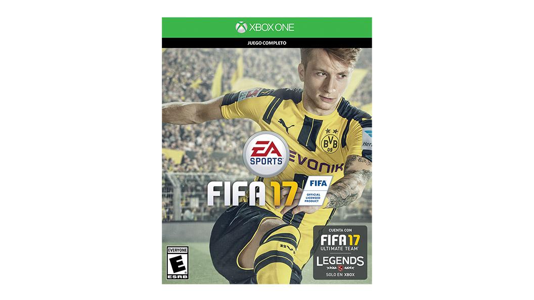 Tarjeta de juego FIFA 17