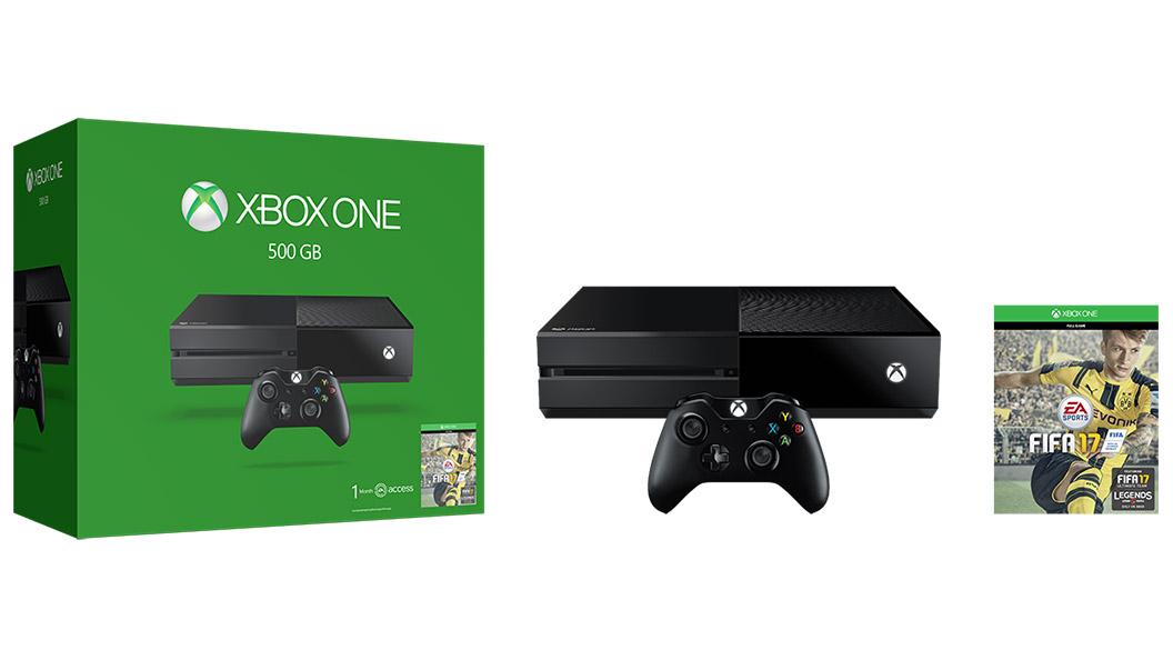 Paquete Xbox One FIFA 17