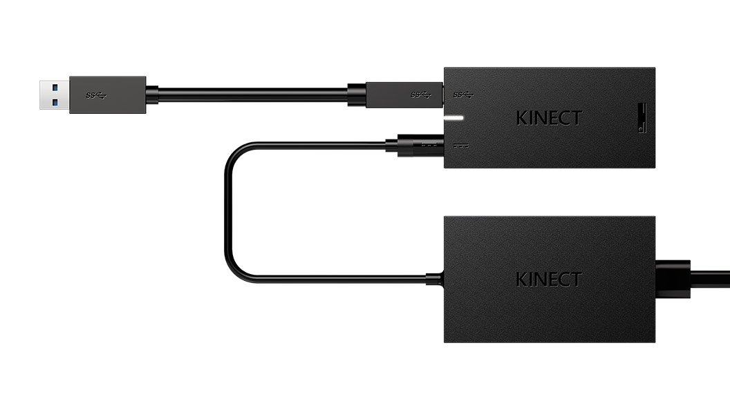 Kinect Adapter close up