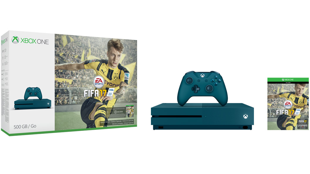FIFA 17 Special Edition 500GB group shot