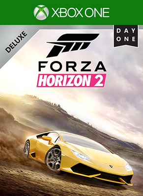 Forza Horizon 2 Day 1 Deluxe Edition Box Shot