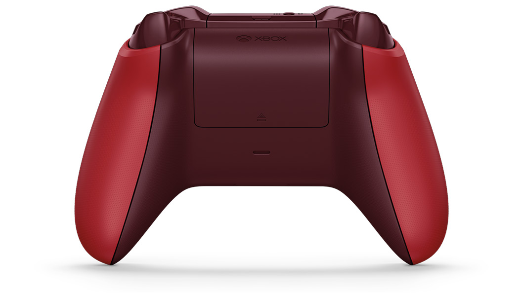 Back view of Red Controller