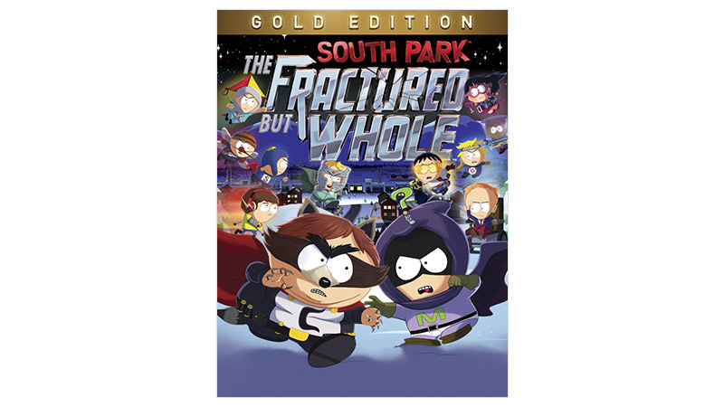 A South Park: The Fractured but Whole Gold Edition dobozának képe
