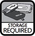Storage Required