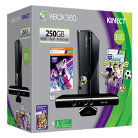 Xbox 360 Limited Edition Kinect Holiday Bundle