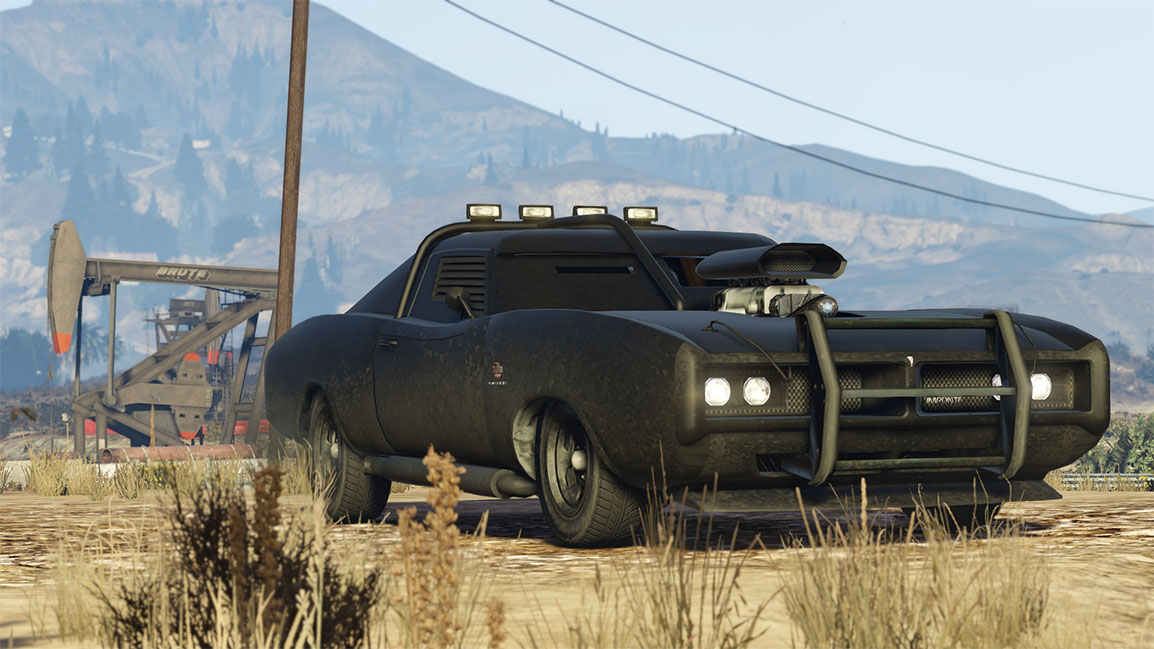 Imponte Duke O'Death - A menacing new ride