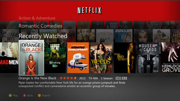 Netflix on Xbox