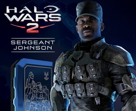 Halo Wars 2 - Sargento Johnson