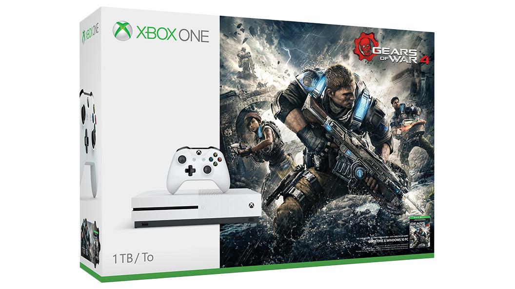 Resultado de imagen para xbox one s gears of war 4 edition