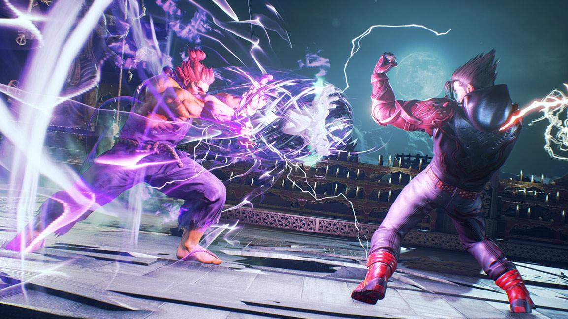Akuma versus Jin