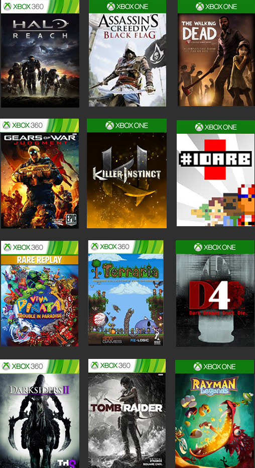 free games for xbox one  code