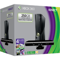 Xbox 360 Kinect 250GB Spring Bundle