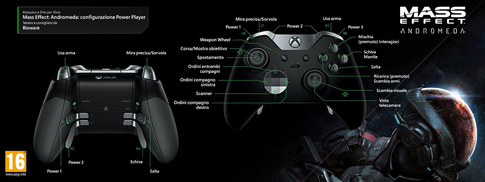 Mass Effect: Andromeda - Configurazione Power Player
