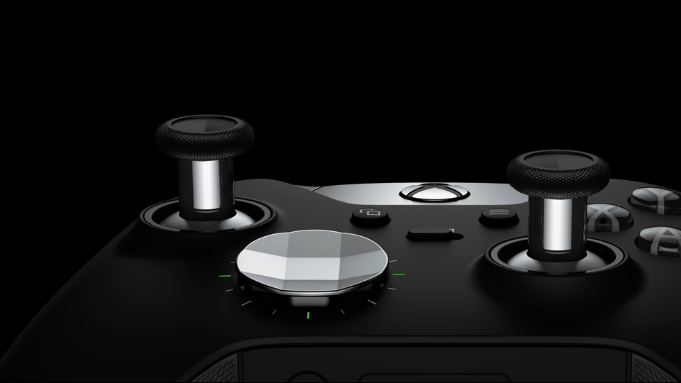 Elite Wireless Controller interchangeable D-pad