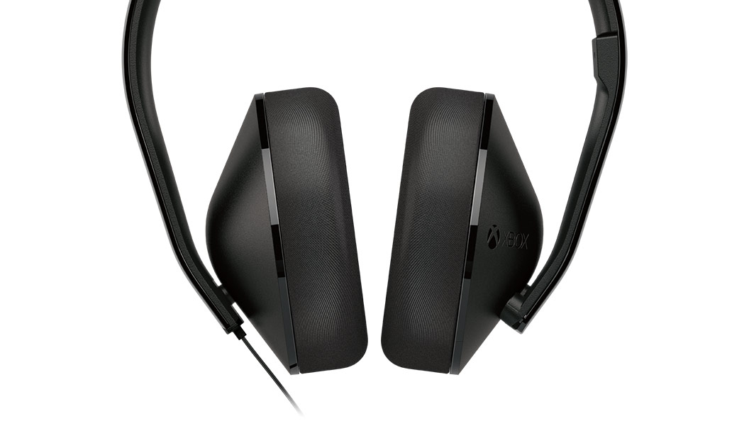 Stereoheadset - close-up luidsprekers