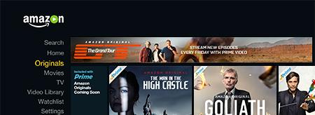 Amazon Originals instant access