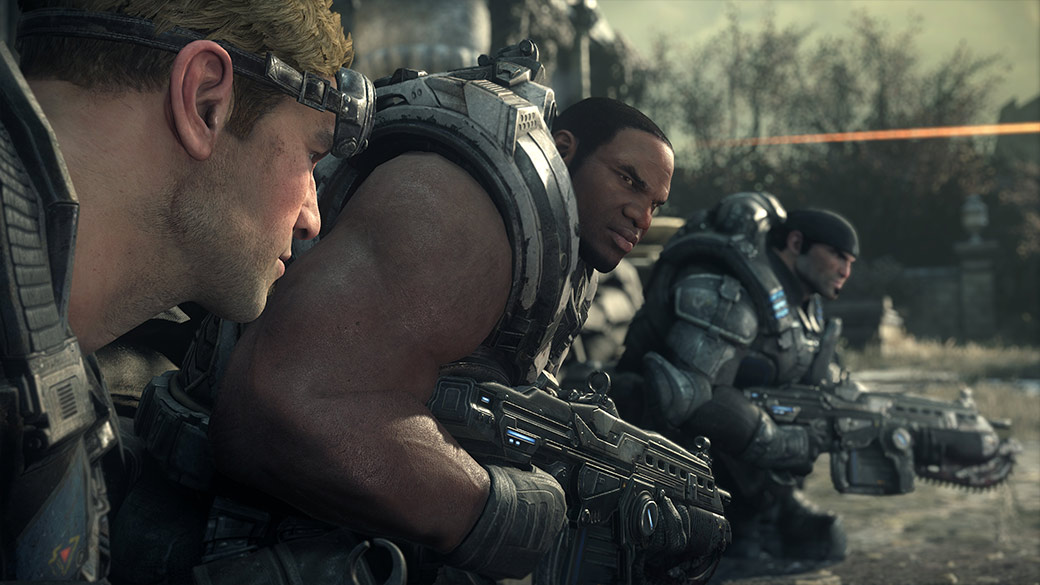 Gears of War game play
