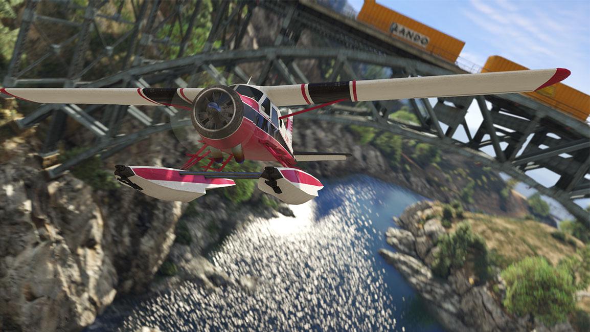 Dodo – ett klassiskt sjöflygplan i GTA