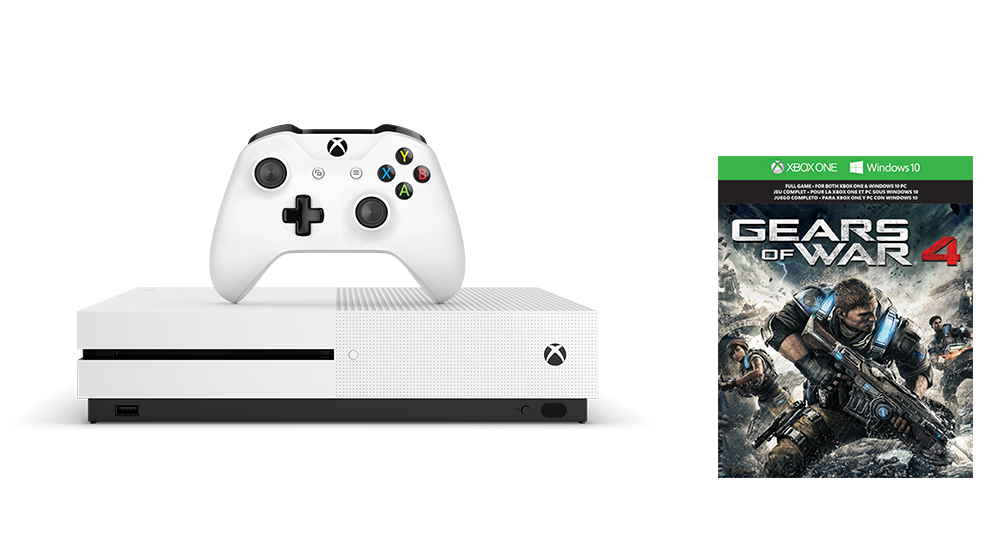 Zestaw Xbox One S Gears of War 4 (1 TB)