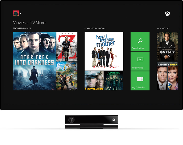 Xbox One: Games Plus Entertainment